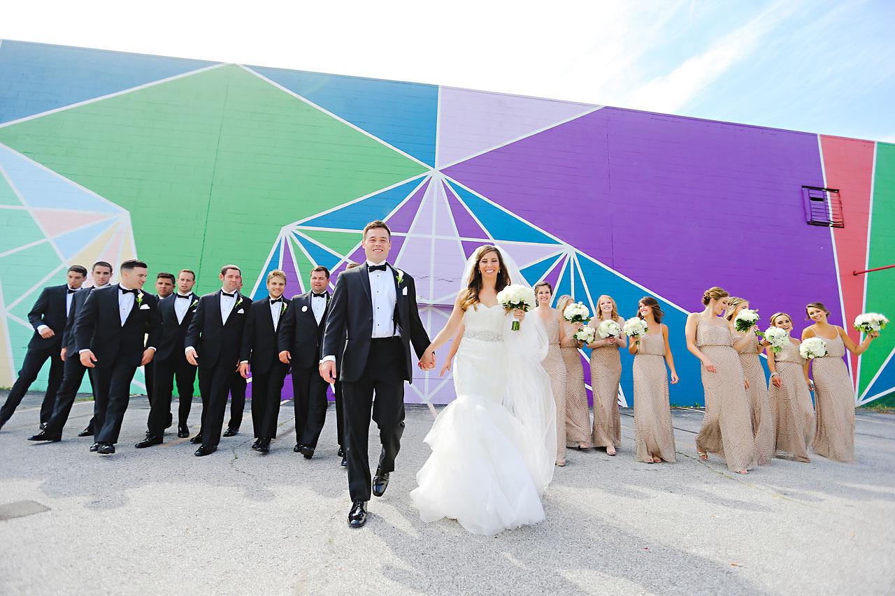112 Vanessa Dustin Indiana Roof Ballroom Wedding