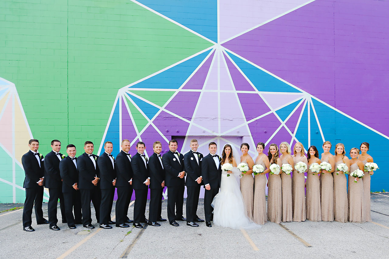 105 Vanessa Dustin Indiana Roof Ballroom Wedding