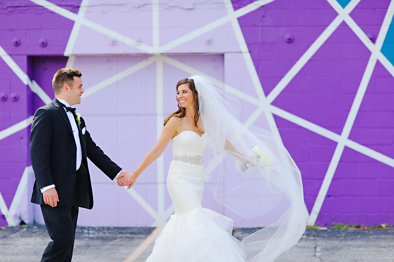 094 Vanessa Dustin Indiana Roof Ballroom Wedding