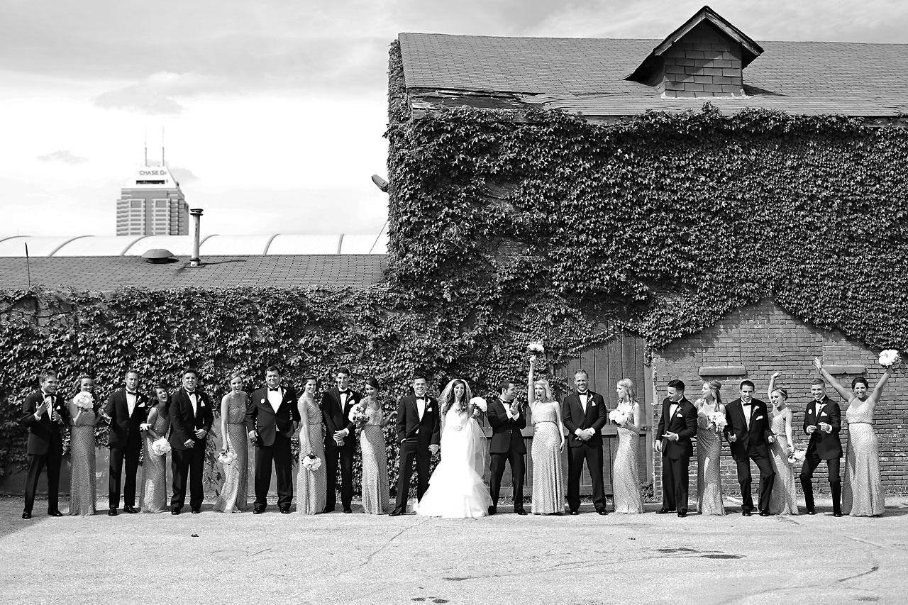 090 Vanessa Dustin Indiana Roof Ballroom Wedding