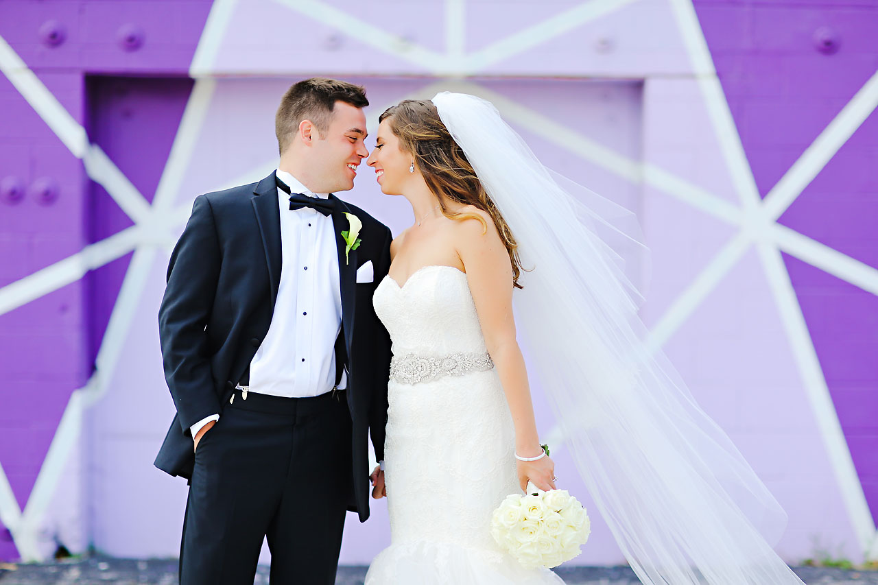 091 Vanessa Dustin Indiana Roof Ballroom Wedding