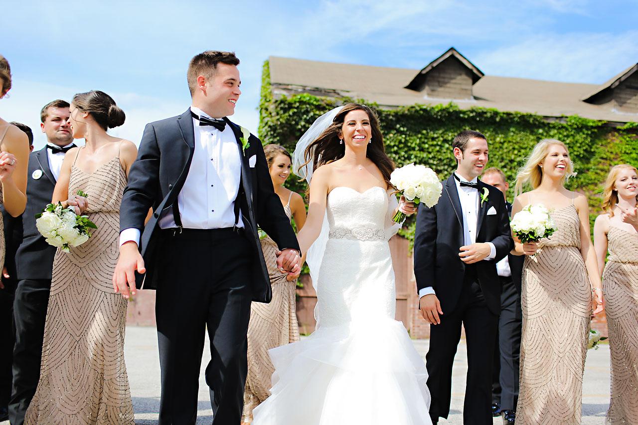 092 Vanessa Dustin Indiana Roof Ballroom Wedding