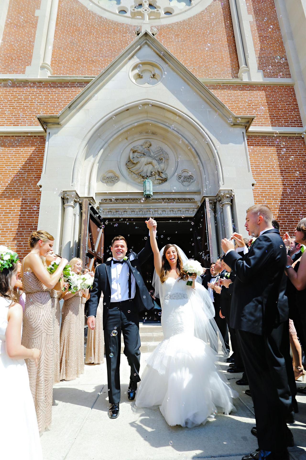 087 Vanessa Dustin Indiana Roof Ballroom Wedding