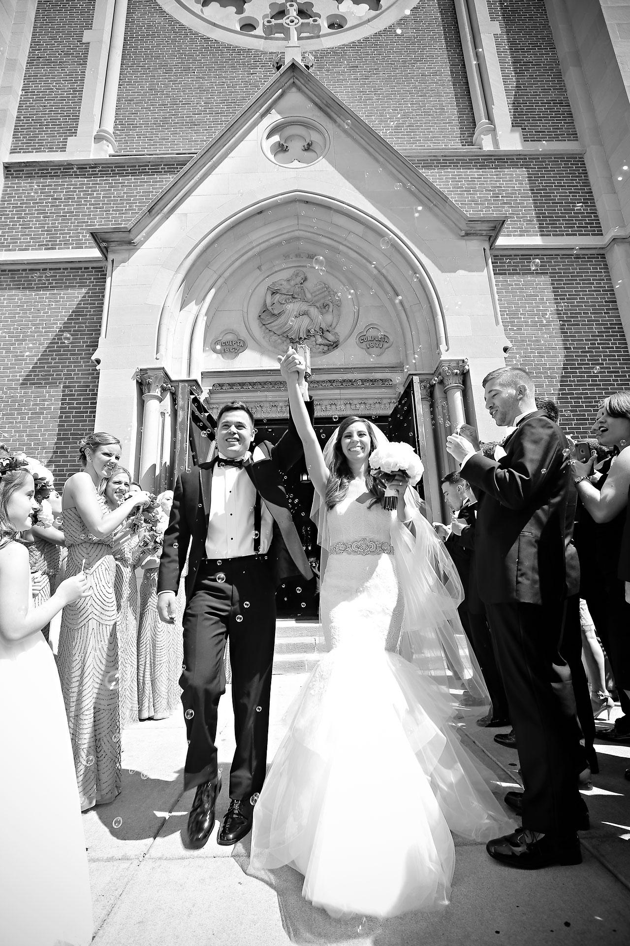 088 Vanessa Dustin Indiana Roof Ballroom Wedding