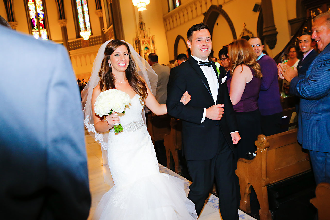 086 Vanessa Dustin Indiana Roof Ballroom Wedding