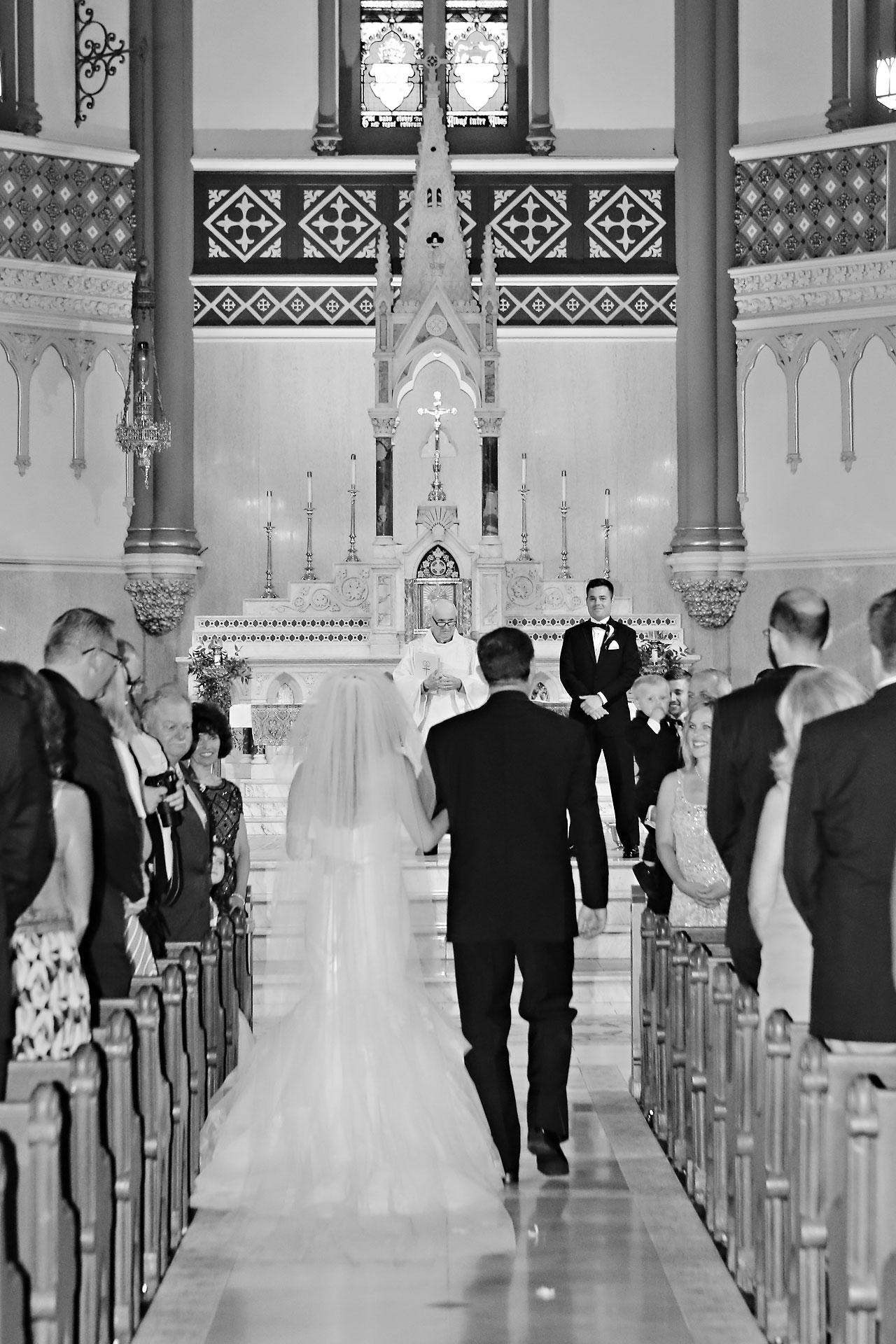 082 Vanessa Dustin Indiana Roof Ballroom Wedding