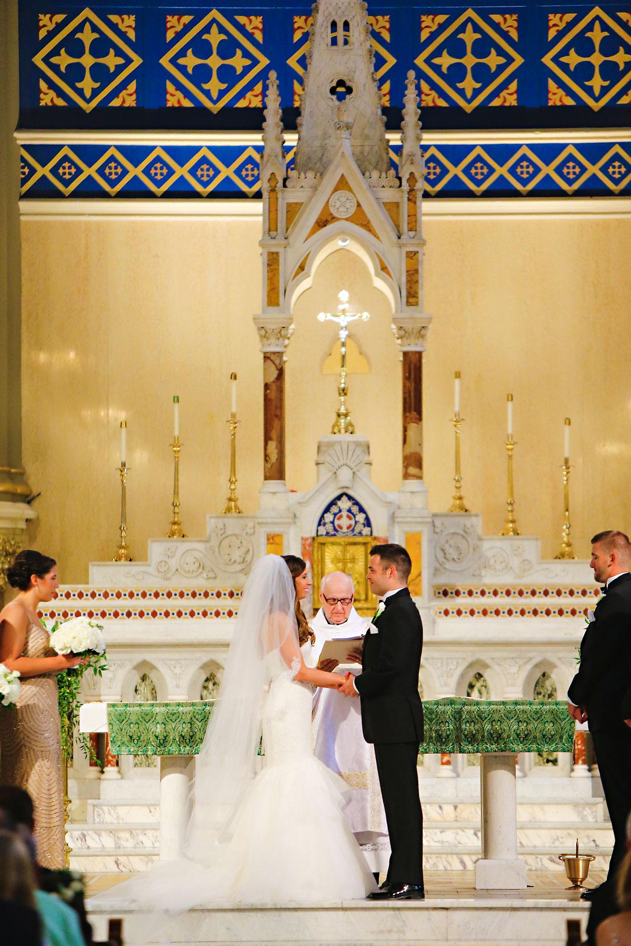 084 Vanessa Dustin Indiana Roof Ballroom Wedding