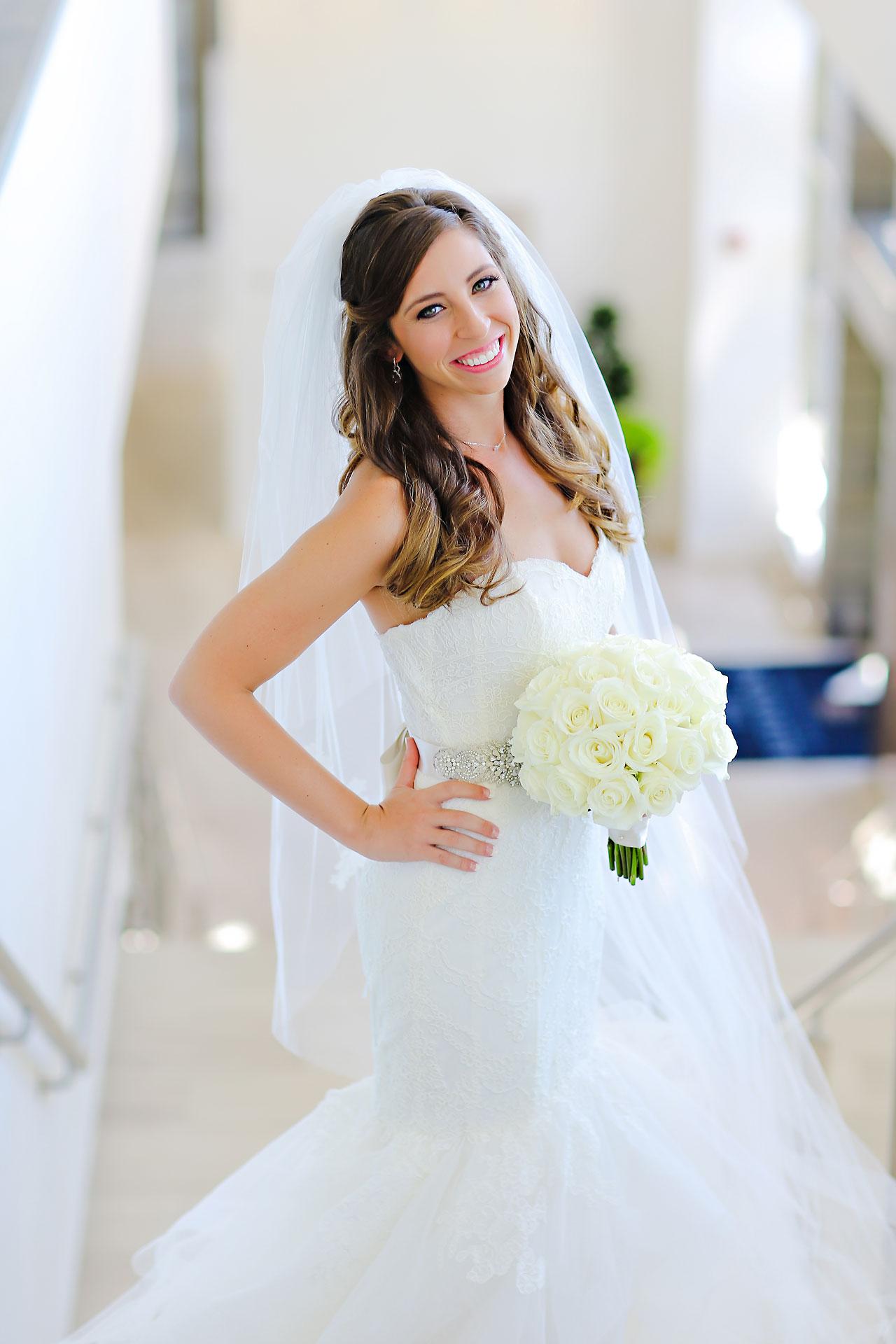 067 Vanessa Dustin Indiana Roof Ballroom Wedding