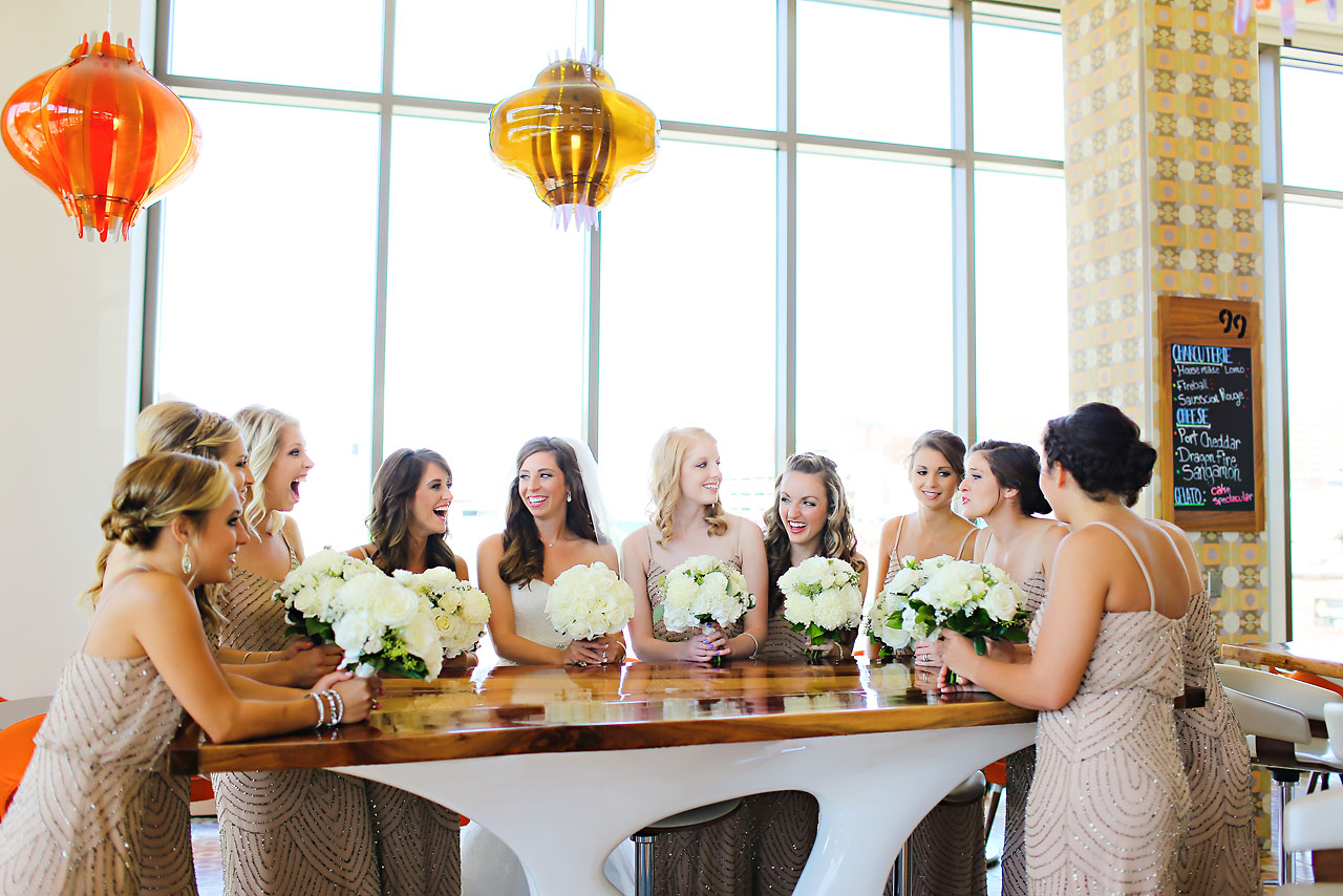 059 Vanessa Dustin Indiana Roof Ballroom Wedding