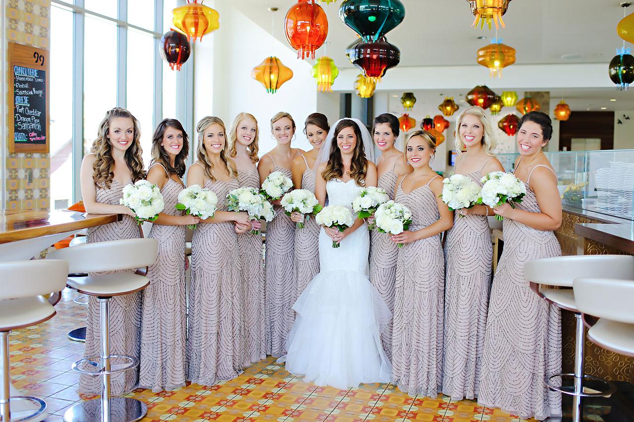 049 Vanessa Dustin Indiana Roof Ballroom Wedding