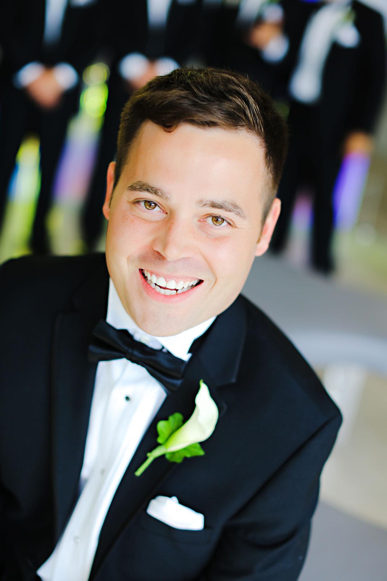033 Vanessa Dustin Indiana Roof Ballroom Wedding
