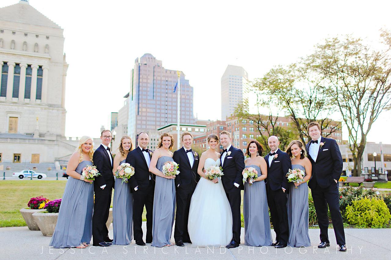 190 Michelle Drew Columbia Club Wedding
