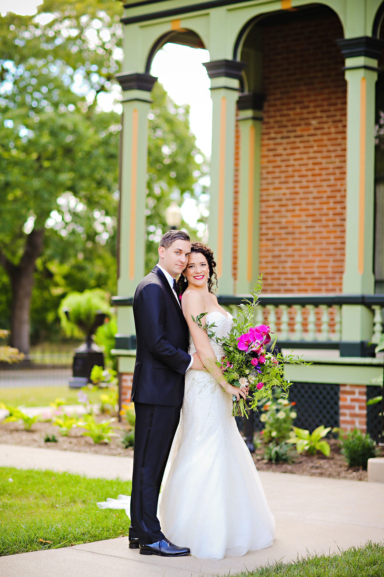 154 Liz Eric Indiana Landmarks Wedding