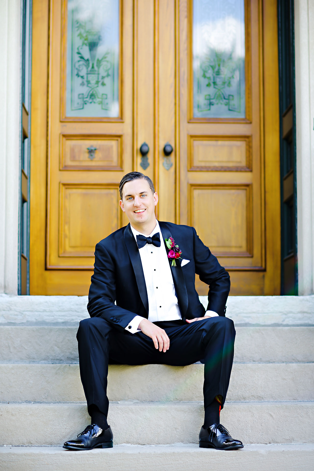 156 Liz Eric Indiana Landmarks Wedding