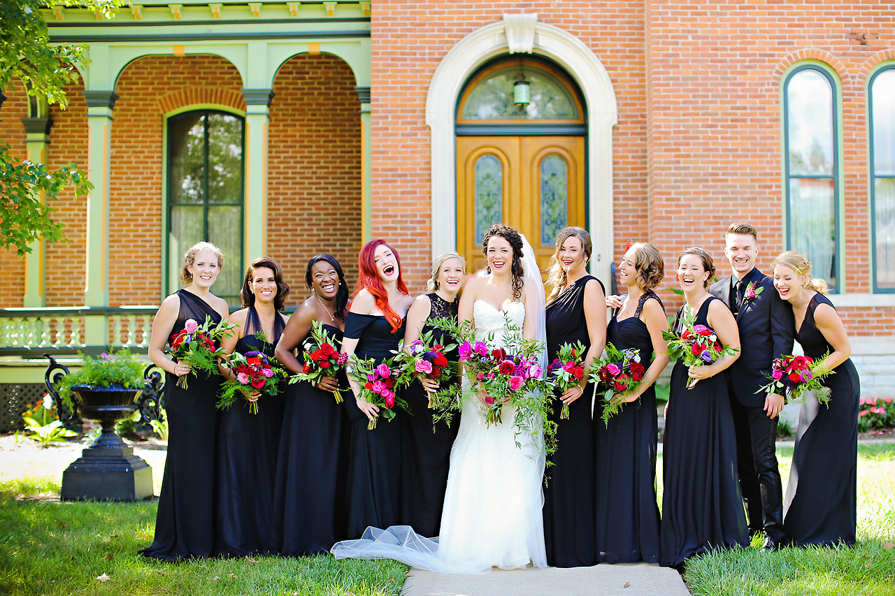 152 Liz Eric Indiana Landmarks Wedding