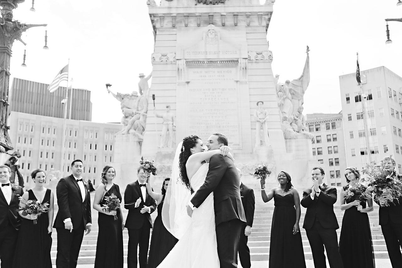 092 Liz Eric Indiana Landmarks Wedding