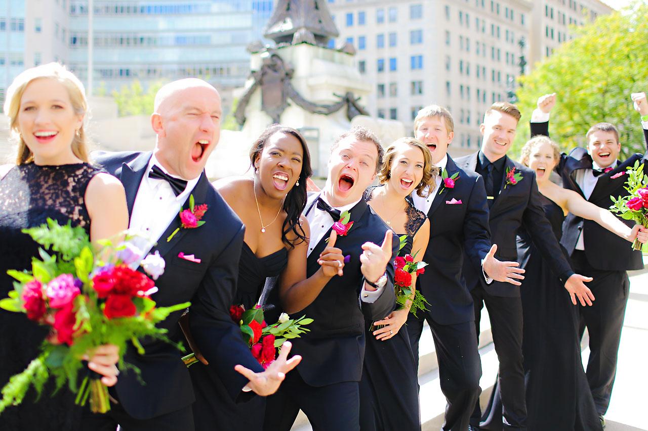 089 Liz Eric Indiana Landmarks Wedding