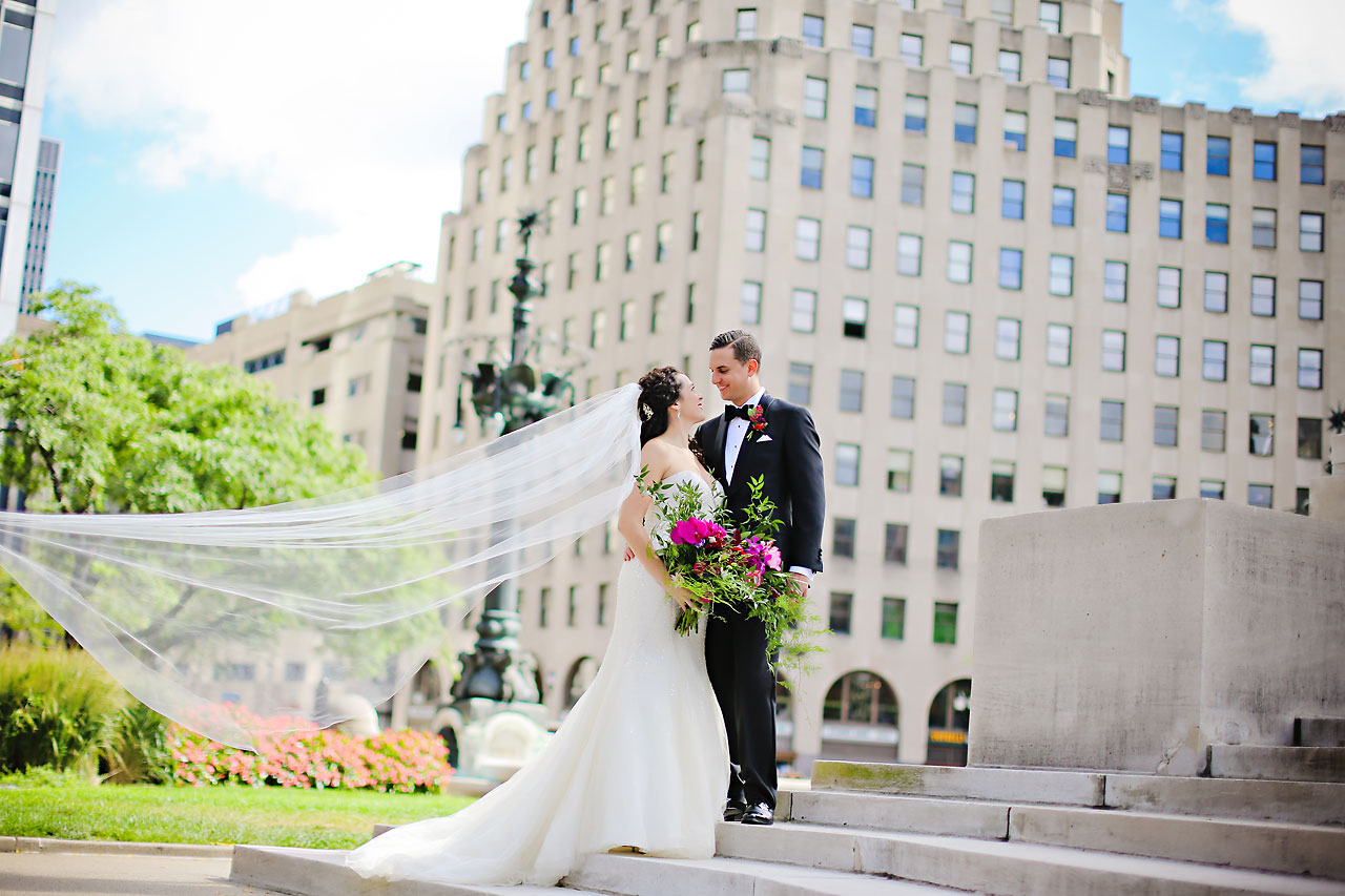 083 Liz Eric Indiana Landmarks Wedding
