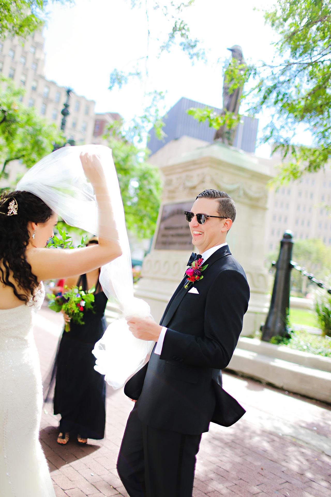 078 Liz Eric Indiana Landmarks Wedding