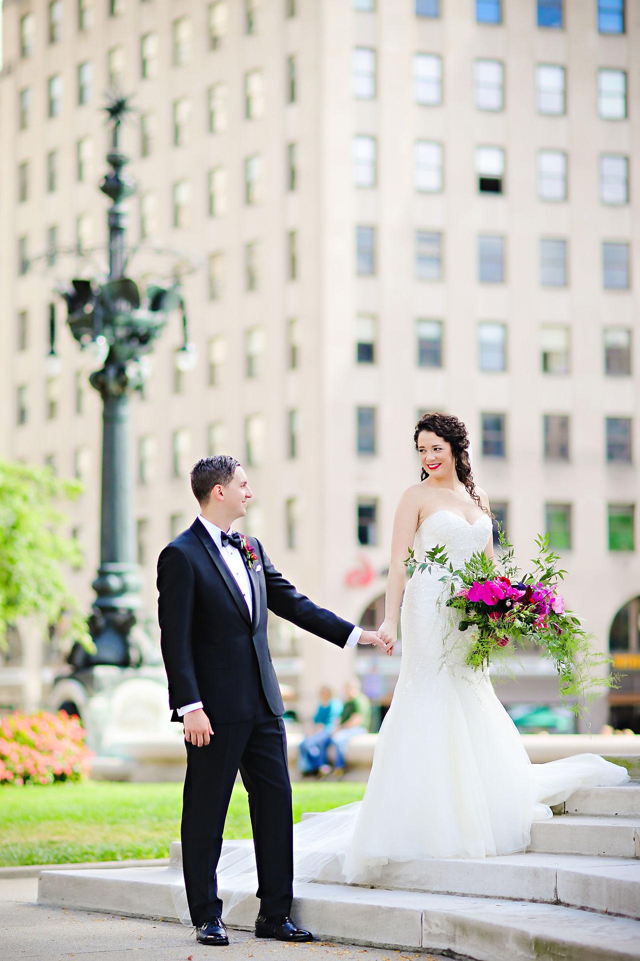 077 Liz Eric Indiana Landmarks Wedding