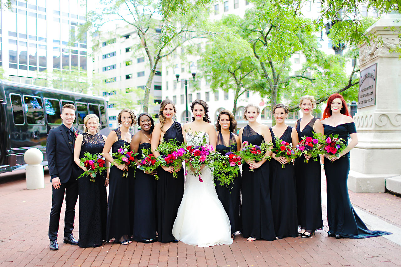 071 Liz Eric Indiana Landmarks Wedding