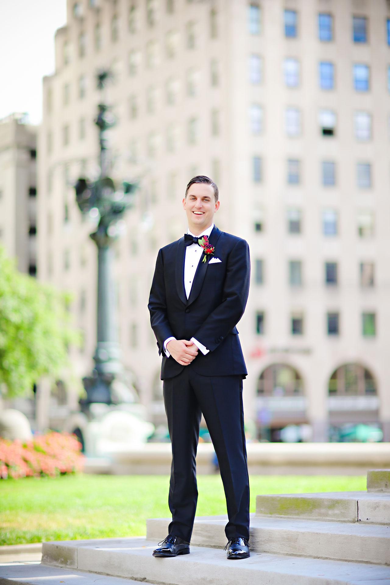 068 Liz Eric Indiana Landmarks Wedding
