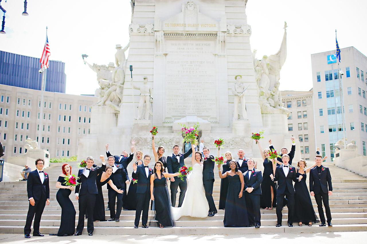 059 Liz Eric Indiana Landmarks Wedding