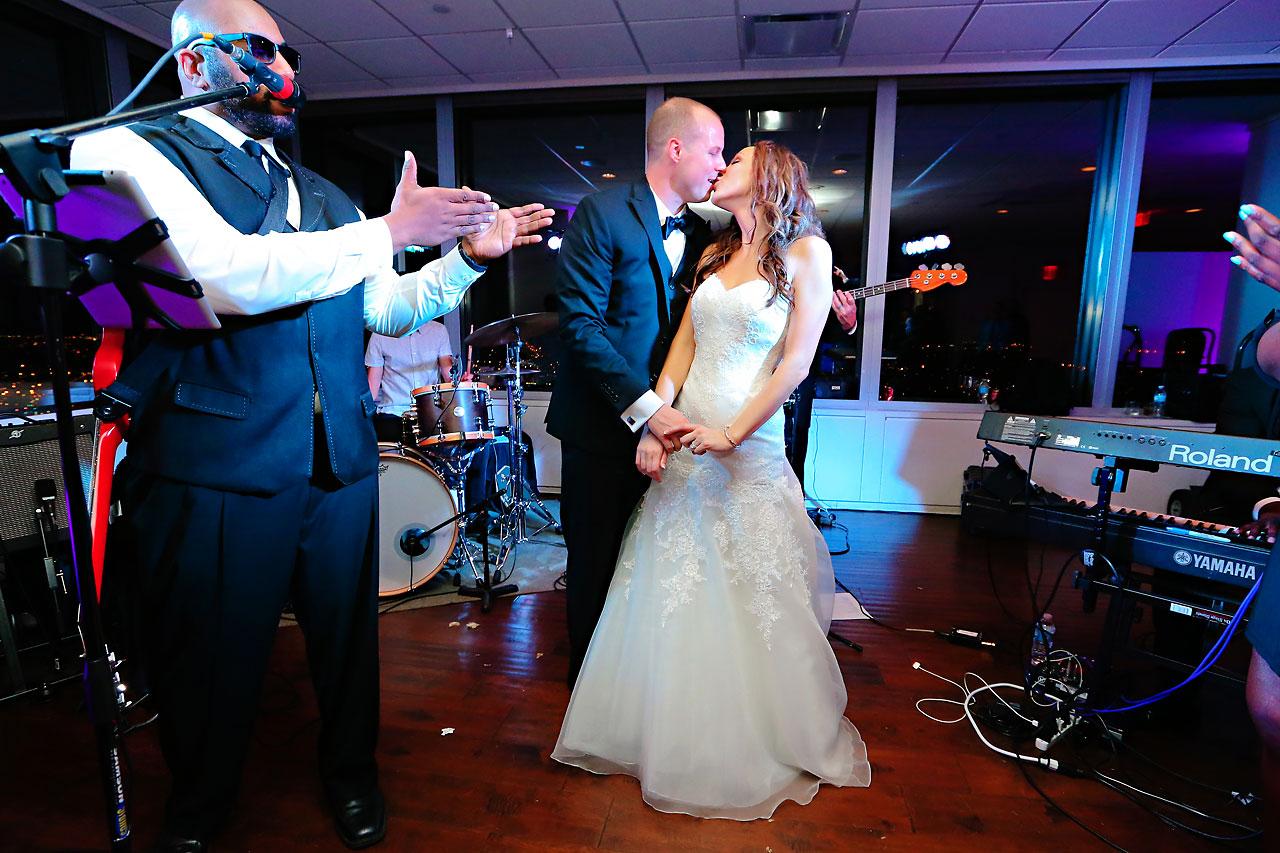 Alli Brett Indianapolis DAmore Wedding 398
