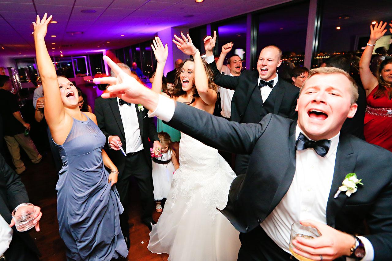 Alli Brett Indianapolis DAmore Wedding 395