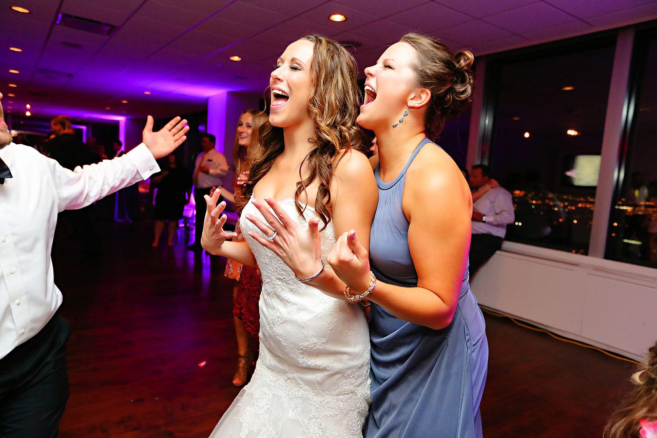 Alli Brett Indianapolis DAmore Wedding 387