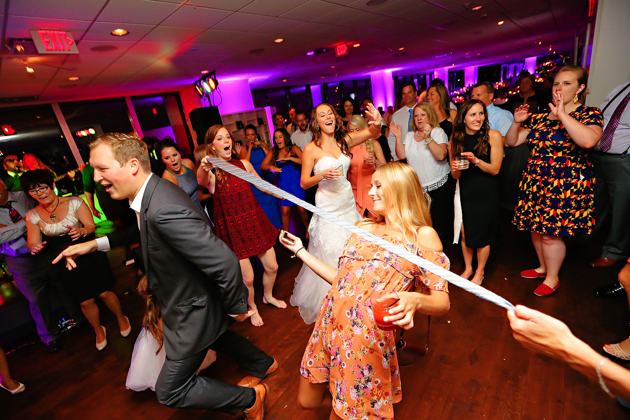 Alli Brett Indianapolis DAmore Wedding 384