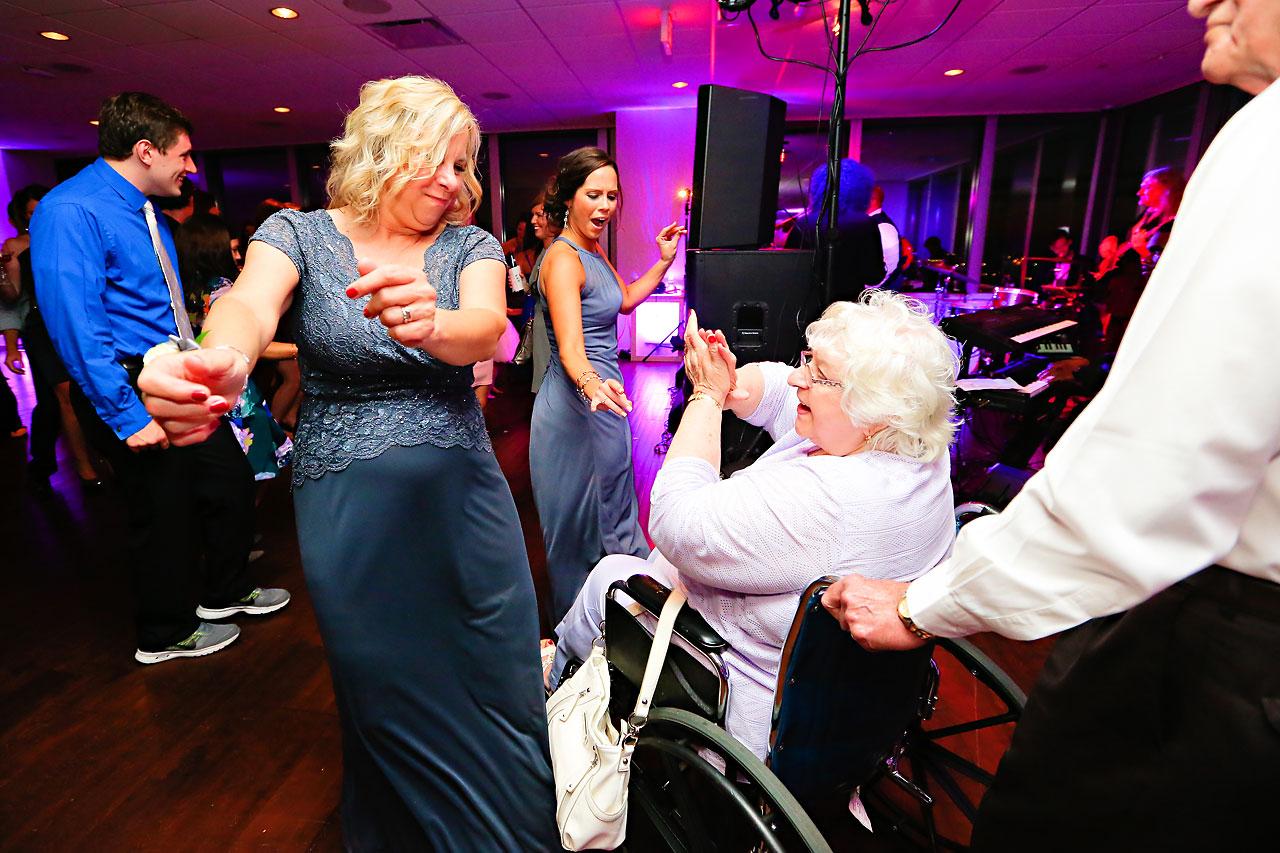Alli Brett Indianapolis DAmore Wedding 371