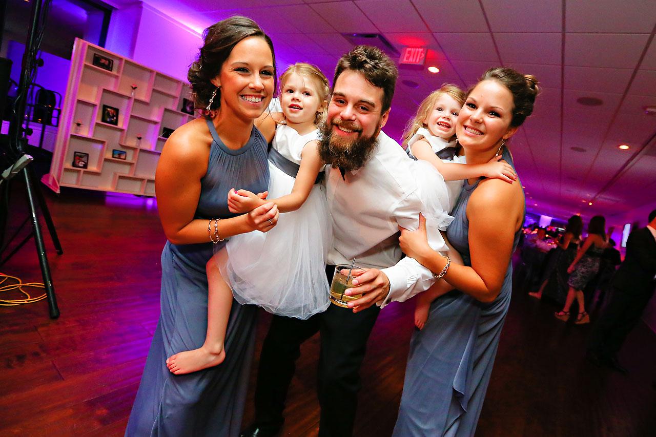 Alli Brett Indianapolis DAmore Wedding 360