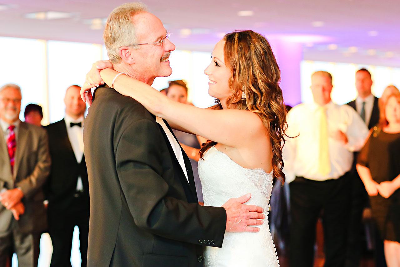 Alli Brett Indianapolis DAmore Wedding 322