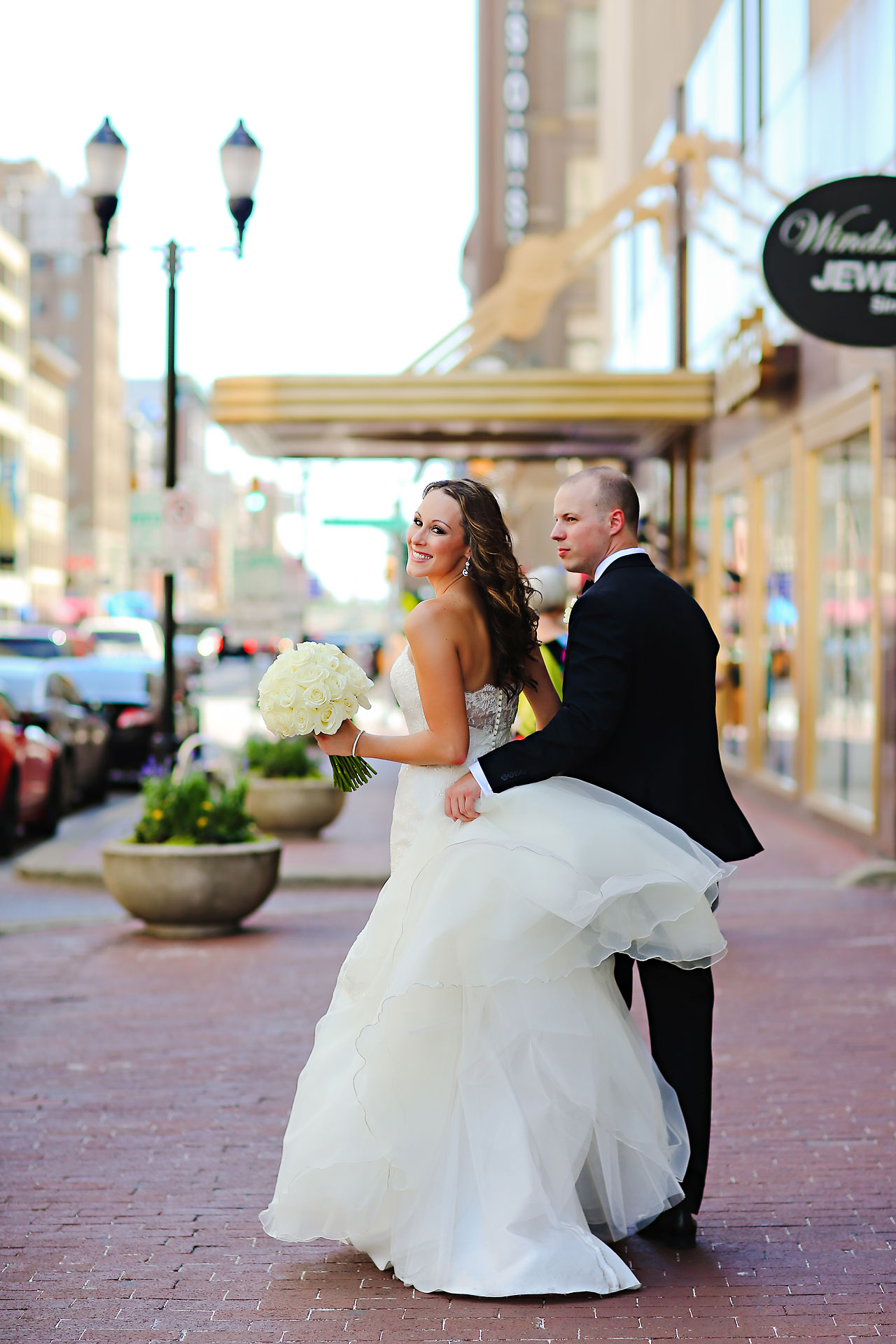 Alli Brett Indianapolis DAmore Wedding 178