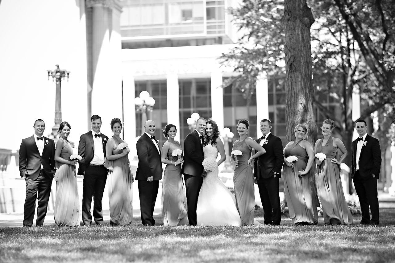 Alli Brett Indianapolis DAmore Wedding 179