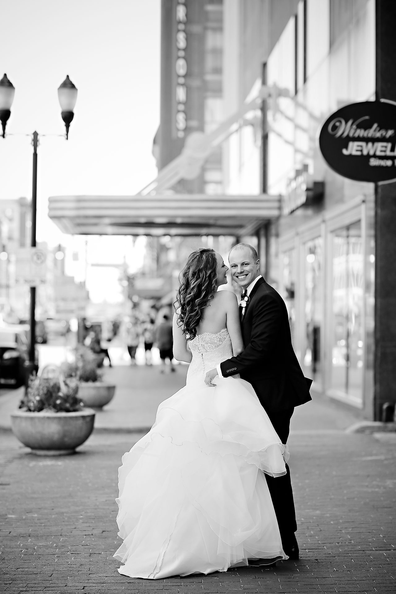 Alli Brett Indianapolis DAmore Wedding 165