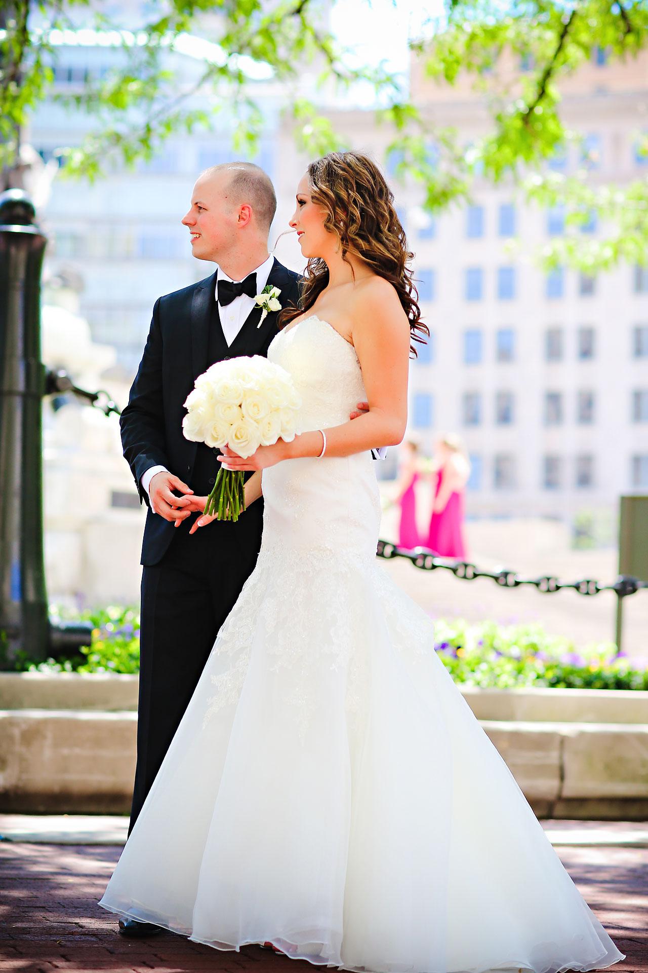 Alli Brett Indianapolis DAmore Wedding 166