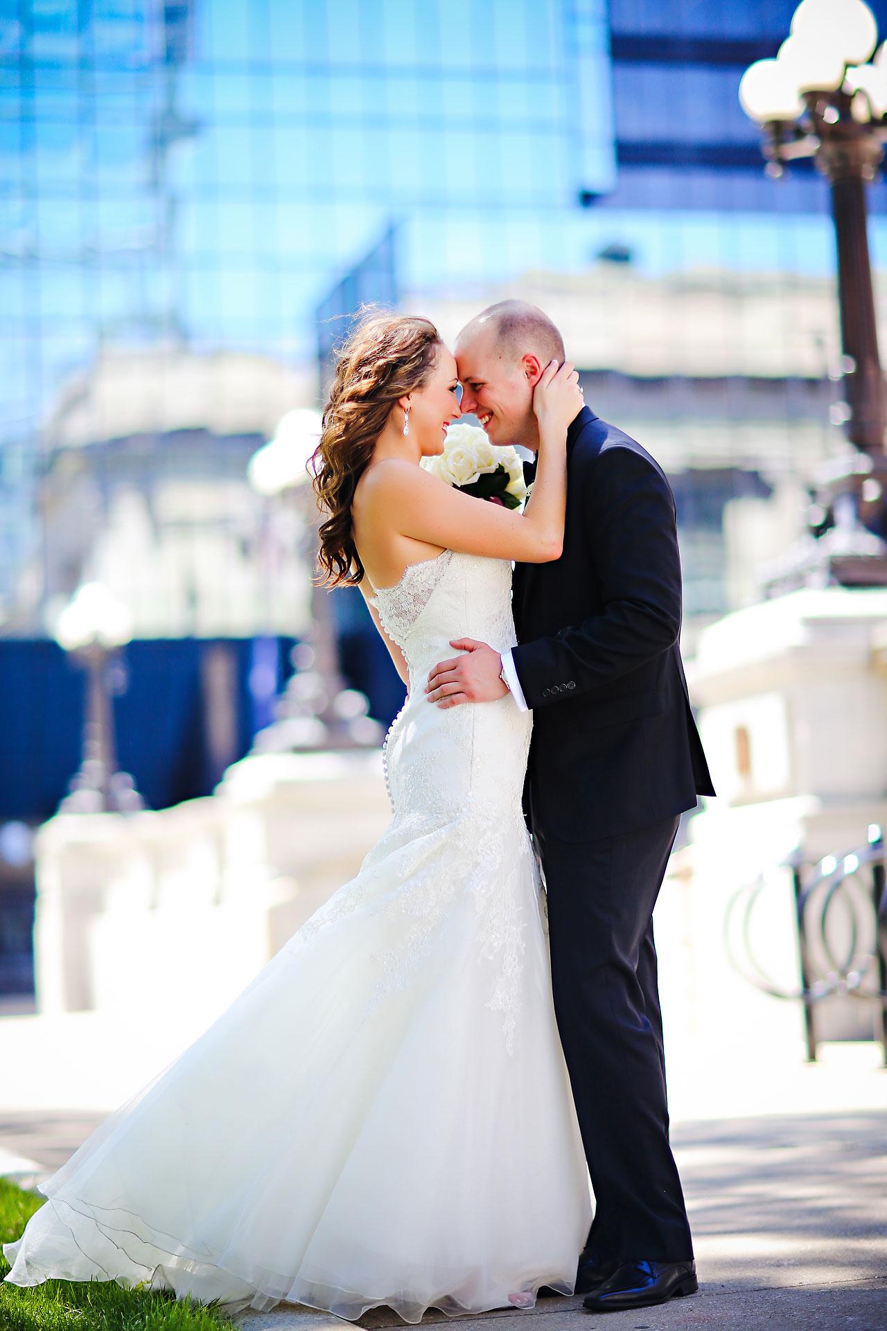 Alli Brett Indianapolis DAmore Wedding 164