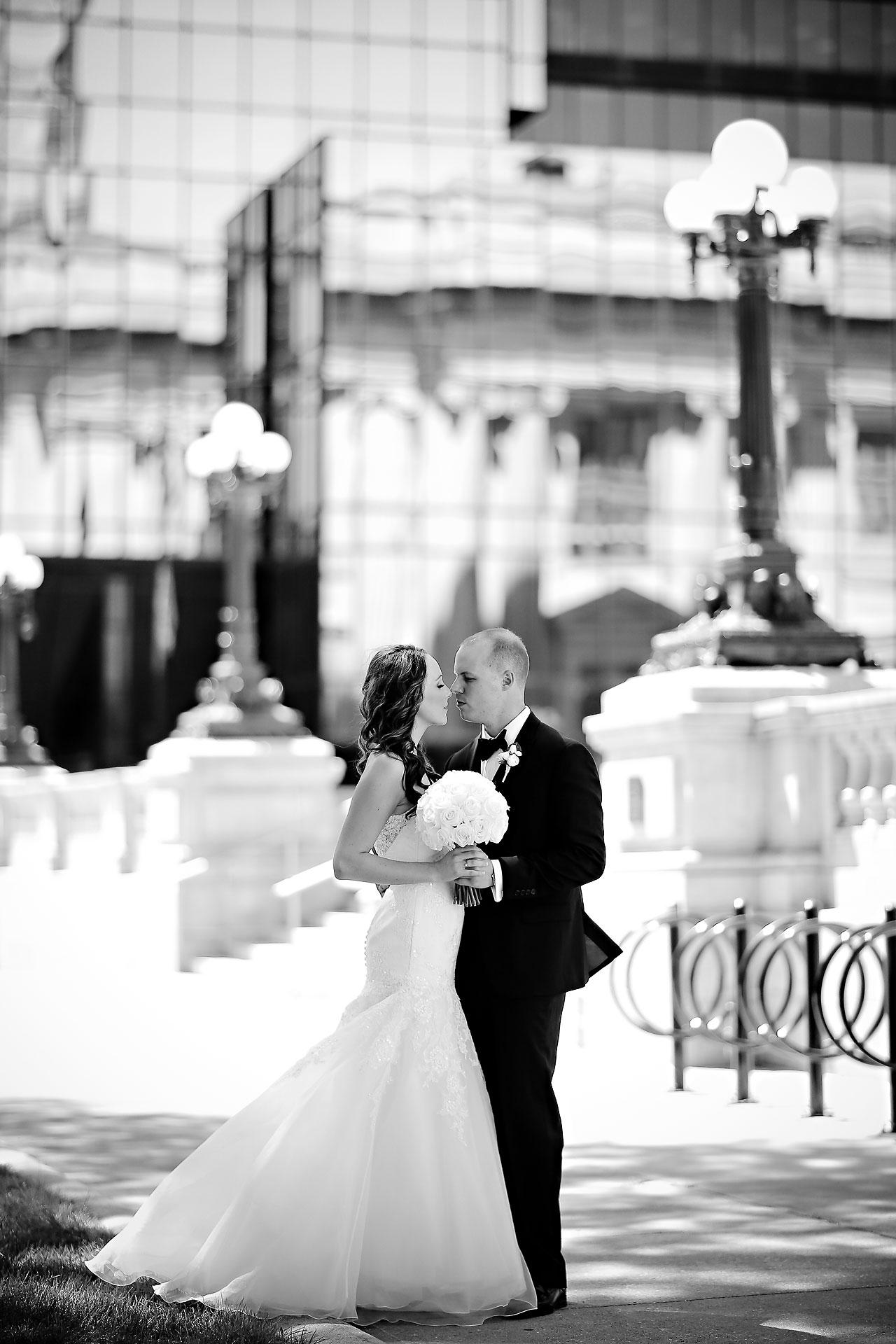Alli Brett Indianapolis DAmore Wedding 159