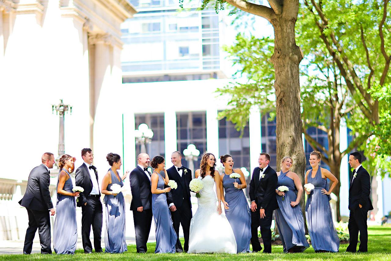 Alli Brett Indianapolis DAmore Wedding 152