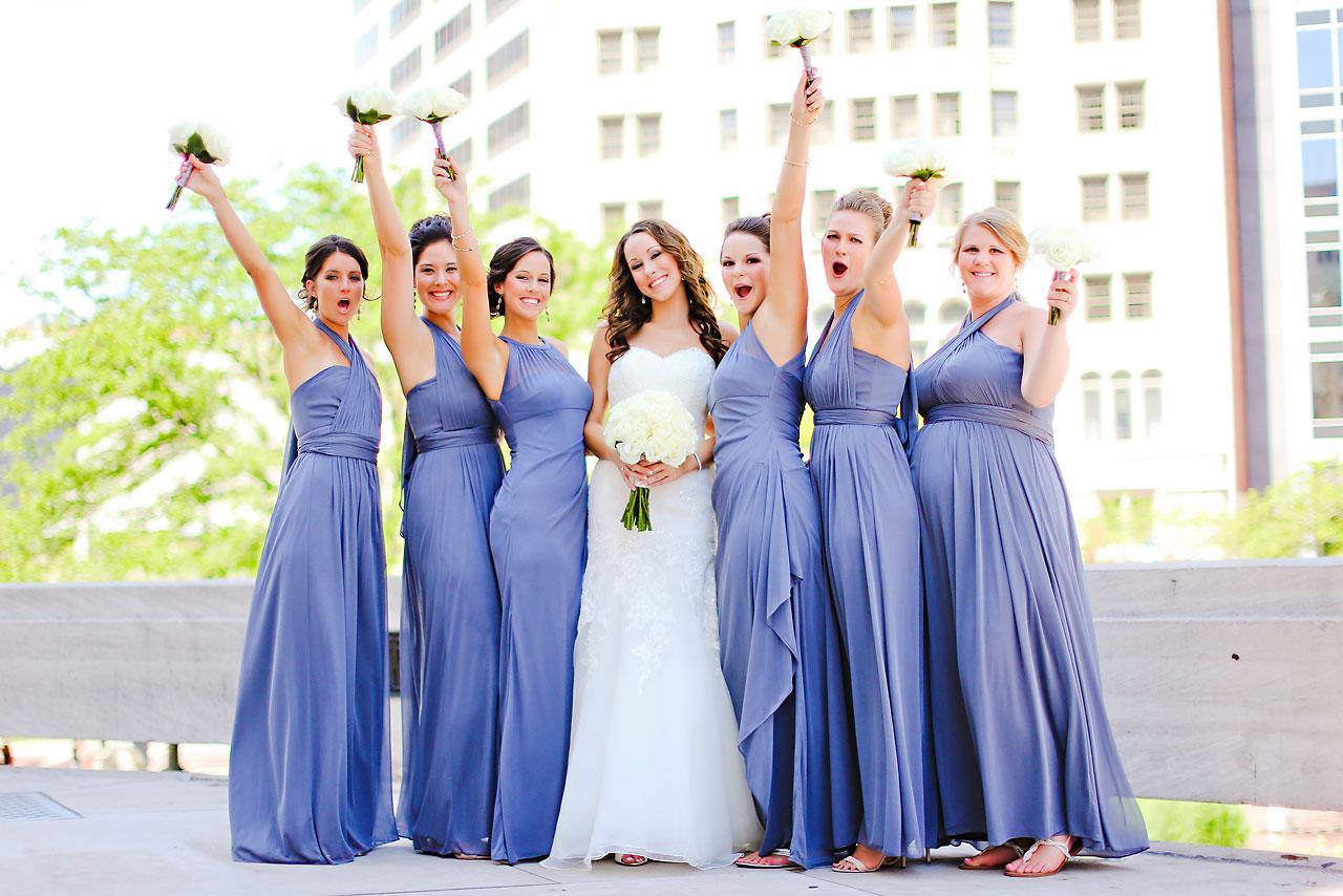 Alli Brett Indianapolis DAmore Wedding 149