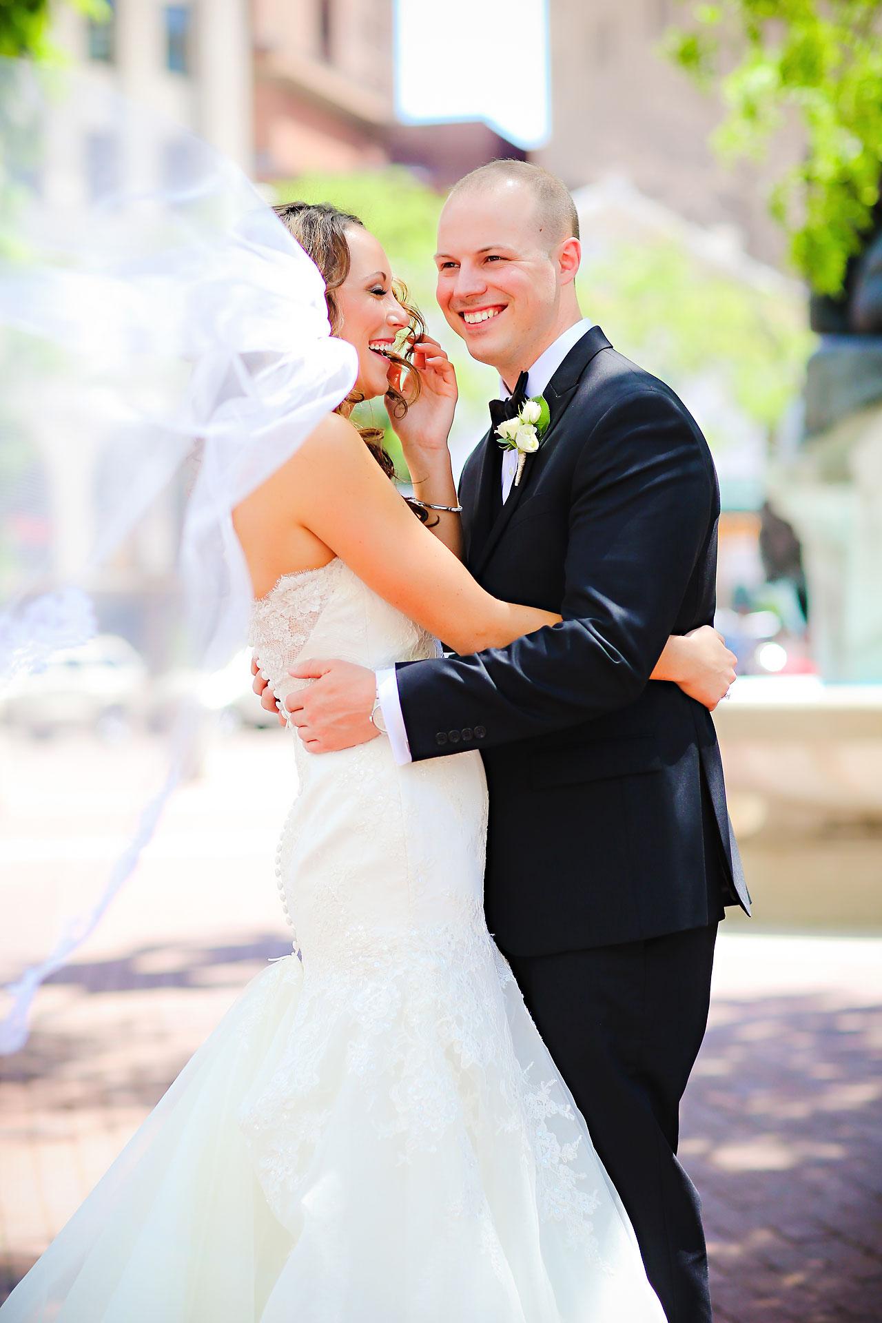 Alli Brett Indianapolis DAmore Wedding 146