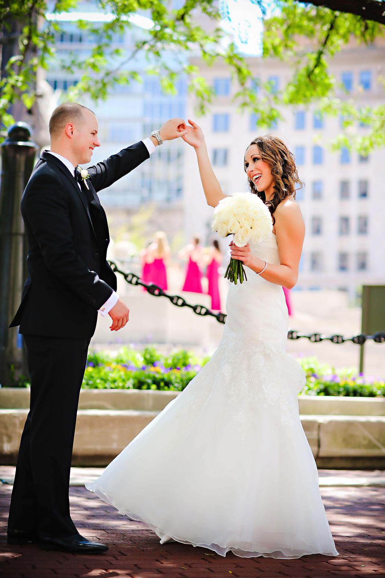 Alli Brett Indianapolis DAmore Wedding 136