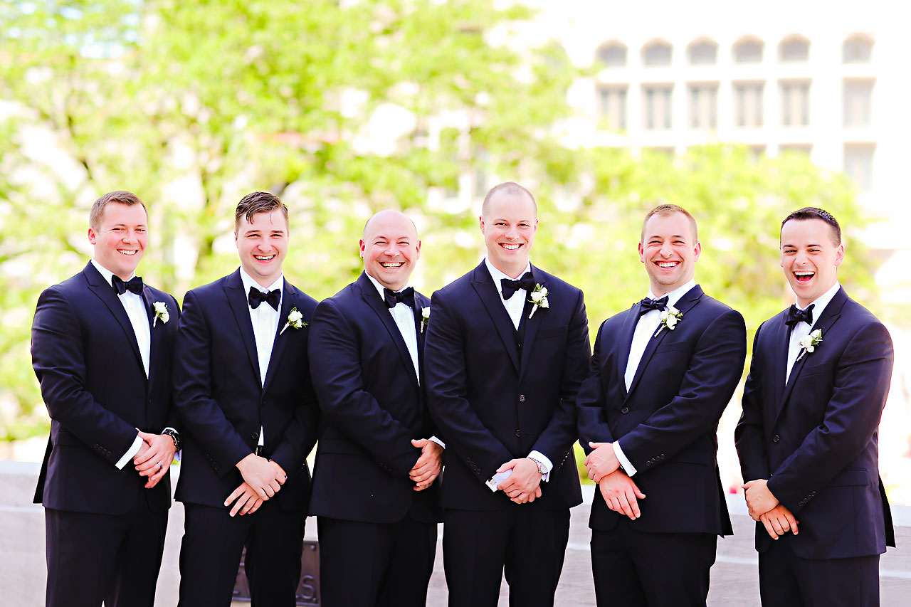 Alli Brett Indianapolis DAmore Wedding 122