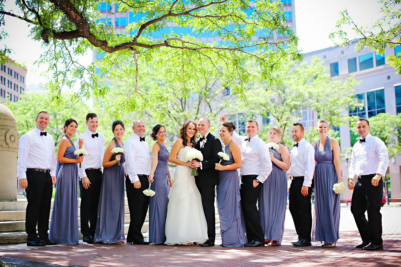Alli Brett Indianapolis DAmore Wedding 119