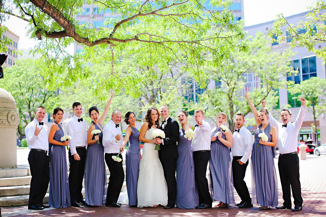 Alli Brett Indianapolis DAmore Wedding 079