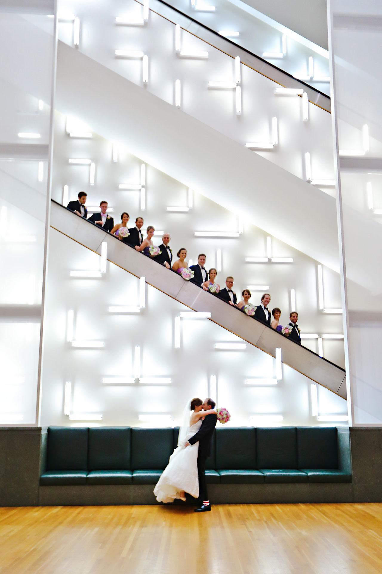 Jackie Charlie Indianapolis Museum of Art Wedding 133