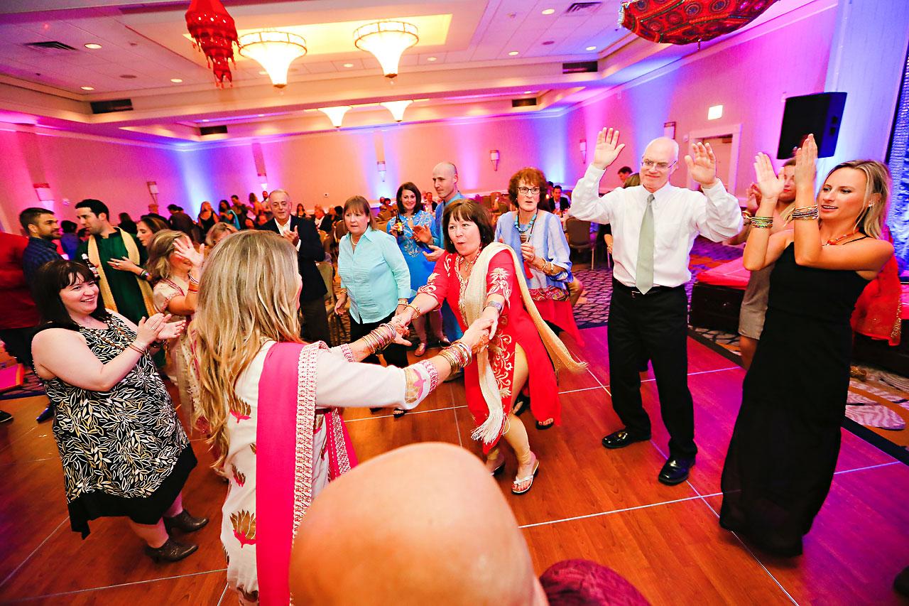 nina ryan indian wedding sangeet 234