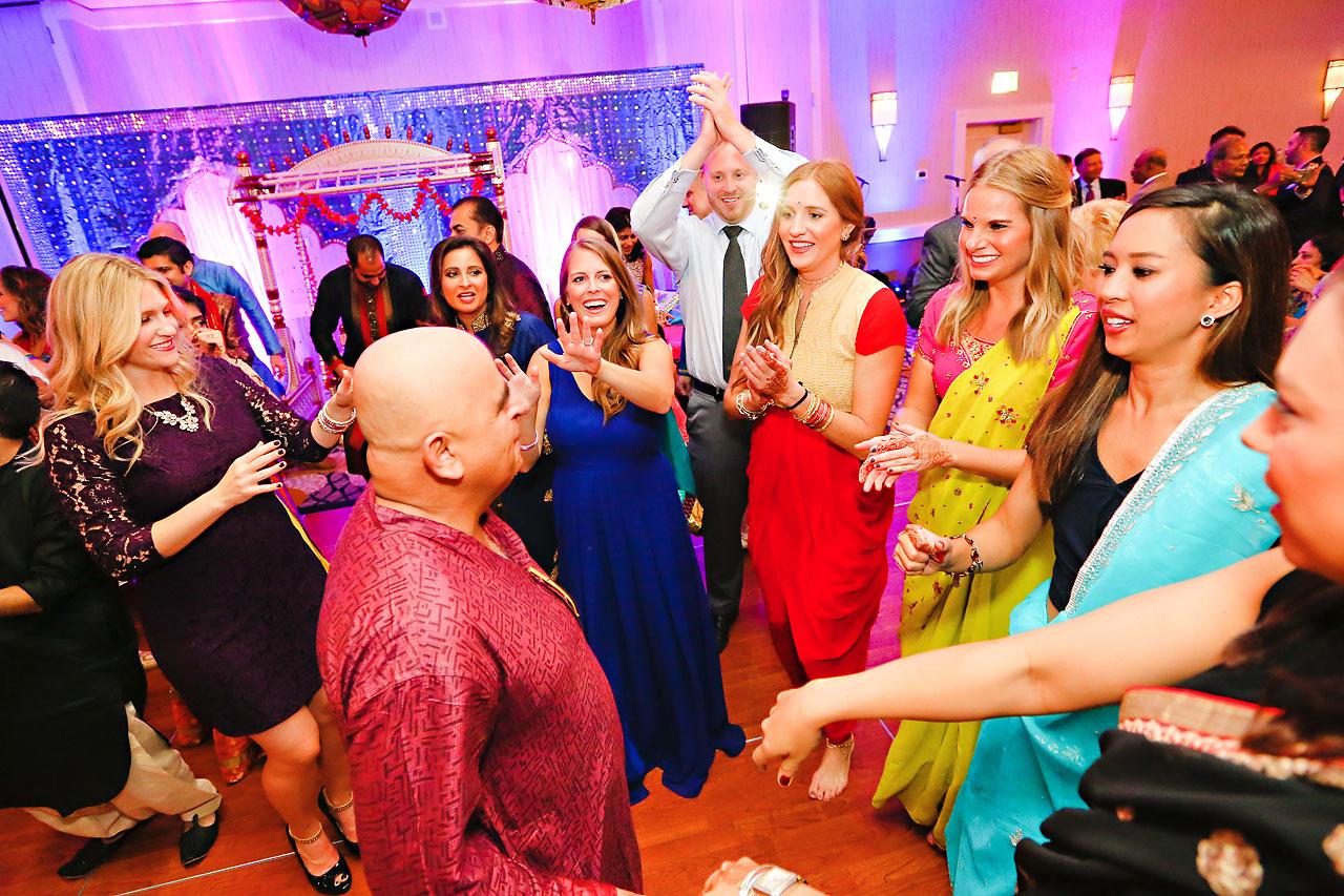 nina ryan indian wedding sangeet 219